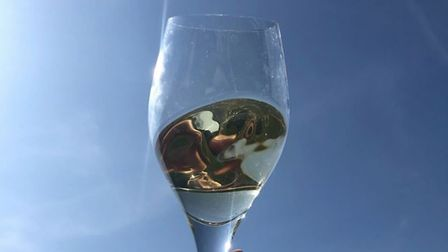 Raise a glass and celebrate all that English wines have to offer Picture: Giffords Hall