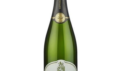 Giffords Hall's Brut Reserve NV, an elegant Pinot Noir-based sparkling wine. It pairs especially wel