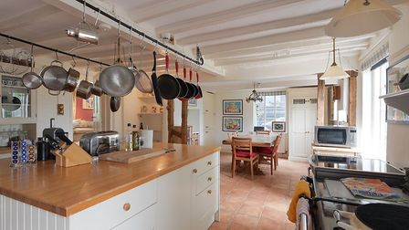The property features a farmhouse style kitchen. Picture: RUFUS OWEN/FULL ASPECT