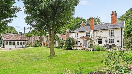 The property is located in the village of Horham, Suffolk. Picture: RUFUS OWEN/FULL ASPECT