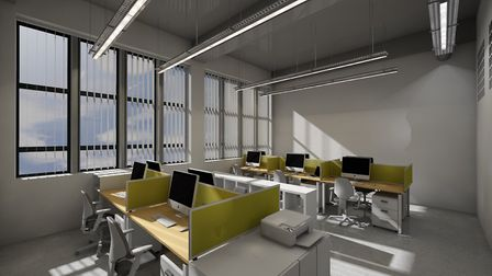 There will be office space within the new hub Picture: THE ART STATION