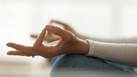 Meditation is one of the most common practices to help with mindfulness Picture: Getty Images