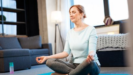 Meditate from the comfort of your very own home Picture: Getty Images