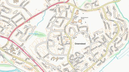 Police have extended powers to stop and search anyone on the estate. This map shows where Section 60