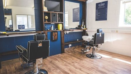 On Point Barbers has already been kitted out with all the necessary equipment with the help of Oli'�