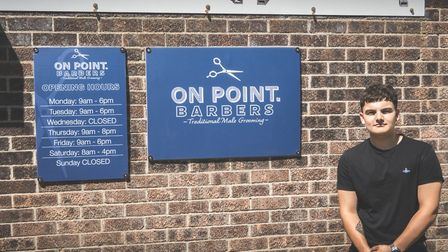 On Point Barbers will open in Elmswell, situated above above Wells Stitched Embroidery in Station Ro