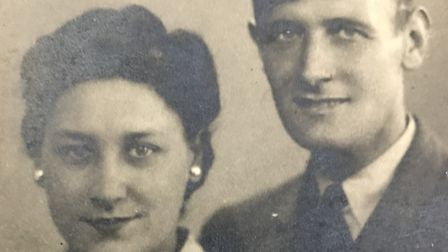 Vera and John Walkden, Les' mother and father Picture: Les Walkden