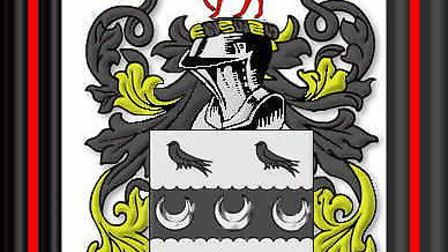 The Walkden coat of arms Picture: Les Walkden / Ancestry