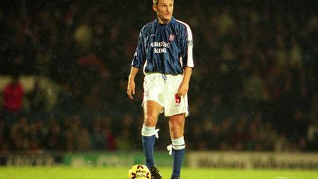 Tony Mowbray made 157 appearances for Ipswich Town. Picture: ARCHANT