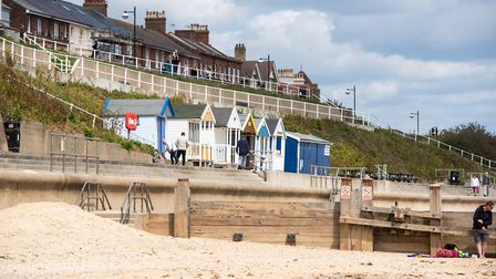 Southwold beach Picture: SARAH LUCY BROWN