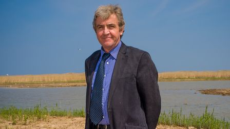 Brendan Joyce, director of Essex and Suffolk Rivers Trust, at Pope's Marsh Picture: ANDY CROUCH
