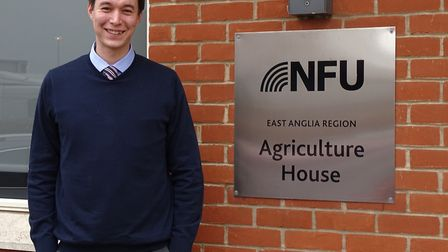 Suffolk NFU county adviser Charles Hesketh Picture: BRIAN FINNERTY