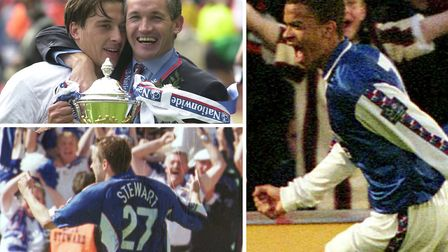 The sale of Kieron Dyer (right) ultimately helped propel Ipswich Town to the Premier League in 2000.
