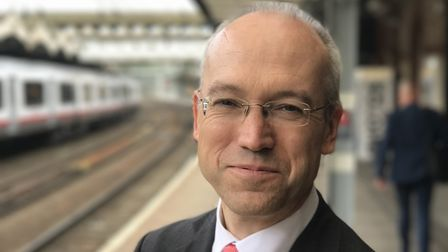 Jonathan Denby, Head of Corporate Affairs at Abellio Greater Anglia judges the customer care award i