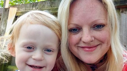 Councillor Louise Fowler pictured here with her 2-year-old son Devin is urging the public to seek me