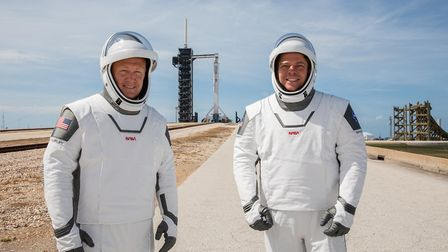 Robert Behnken and Douglas Hurley are onboard the rocket heading for the International Space Station