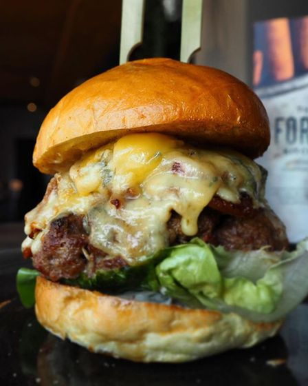 One of The Forge Kitchen's delicious burgers topped with a brioche bun Picture: The Forge Kitchen