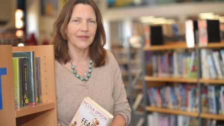Meg Reid, artistic director of the Felixstowe Book Festival, is taking the event online this year P
