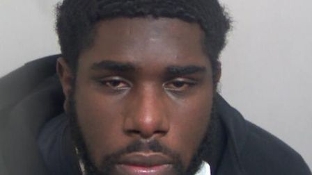 Troyhan Coleman, 21, from London, was jailed at Ipswich Crown Court on May 21 after more than 150 wr