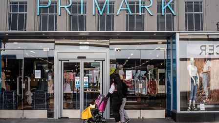 Primark, which has branches in Ipswich and Colchester, has not yet confirmed when it plans to reopen