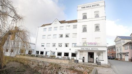 The Mill Hotel in Sudbury, which sits beside the River Stour Picture: Gregg Brown / Archant Archives