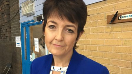 Bury St Edmunds MP Jo Churchill called the decision to axe the trees a 'disappointment' Picture: MAR