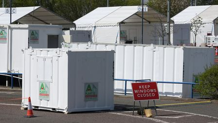 A permanent coronavirus drive through testing facility is open at the London Road Park and Ride car