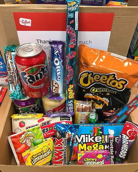 Gifted has launched a mystery candy box delivery from their Norwich store while their shops are shut