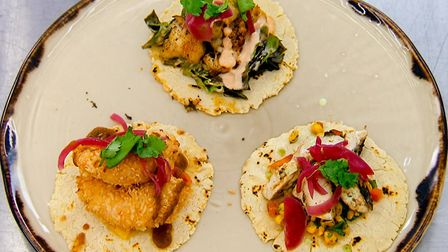 MasterChef contestant Hannah Gregory shares her siganture dish from the show - tacos Picture: HANNAH