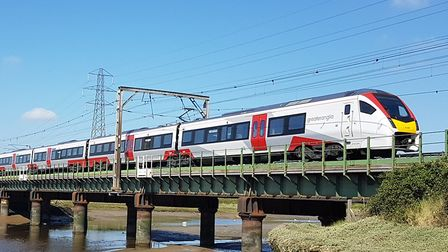 Trains are still running across the region. Picture: PAUL GEATER