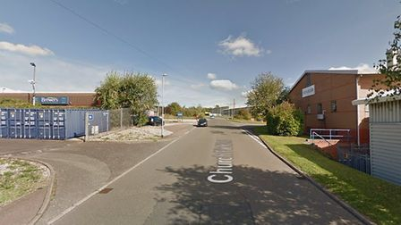 Buildbase on on the Chilton Road Industrial Estate was burgled Picture: GOOGLE MAPS