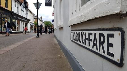 The Thoroughfare in Woodbridge came second in the Great British High Street Awards last year. Pictur