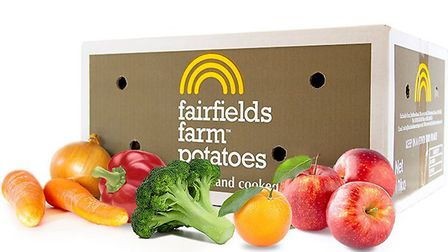 Fairfields Farm is offering fruit and veg boxes for delivery nationwide Picture: Fairfields Farm