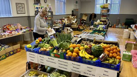 Battisford Parish Council has helped provide food to those in need during the crisis Picture: Batti
