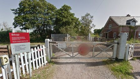 A driver-operated crossing at Worlingham, near Beccles. Picture: GOOGLE MAPS