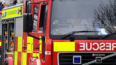 Suffolk fire crews were called to a waste centre in Cambridge (file photo) Picture: ARCHANT