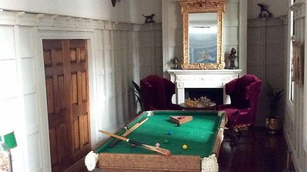 A contender for the world's smallest pool table Picture: Emma Waddell