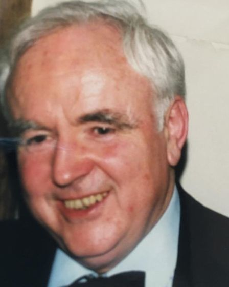 Dr Cockayne became a GP in Woolpit in 1965 Picture: Supplied by family