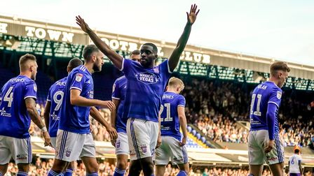 Kane Vincent-Young has been one of the bright spots of Ipswich Town's season Picture: STEVE WALLER