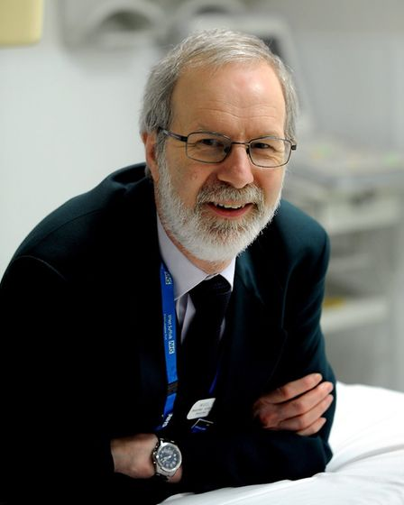 Nigel Beeton, retiring imaging services manager at the West Suffolk NHS Foundation Trust Picture: WS