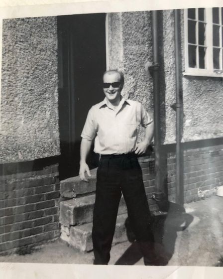 Dennis Ely lived in Ipswich all his life Picture: SUPPLIED BY FAMILY