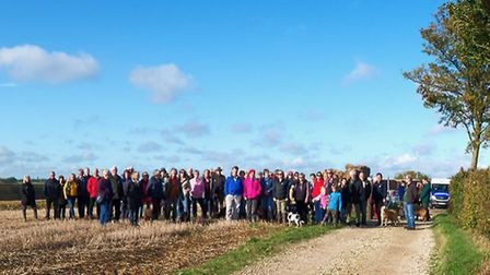 The campaign group are opposing a quarry being built less than 200m from Coggeshall, Essex Picture: