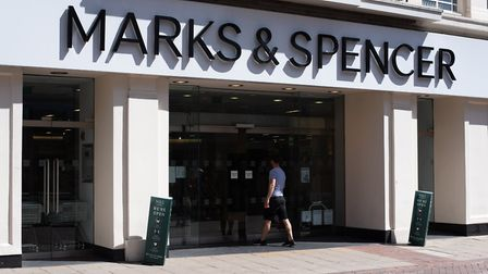 Marks & Spencer in Ipswich town centre will be among the clothing stores reopening on June 15 - but