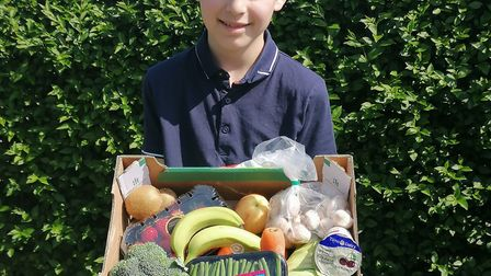 Cdt Dylon McGinley who attends Waterloo detachment in Ipswich arranged for groceries to be delivered