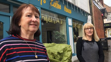 JaCey's Coffee House in Ipswich, pictured while celebrating its 20th anniversary last year. Picture: