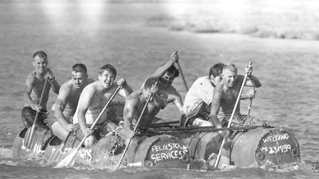 Butley Raft Race in 1991 Picture: ARCHANT