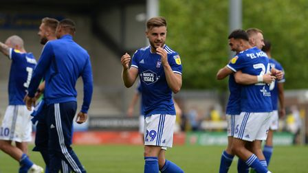 It all started so well for Ipswich Town as they won at Burton on the opening day. Picture Pagepix