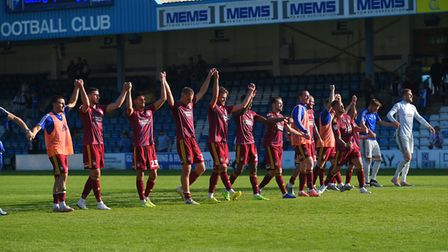 The Blues went top of the table following a 1-0 win at Gillingham. Picture Pagepix