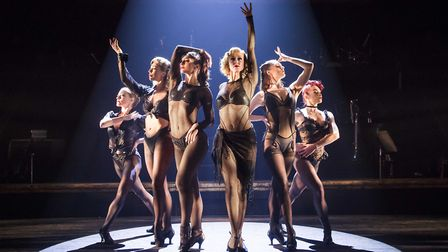 A scene from Chicago The Musical Photo: Tristram Kenton