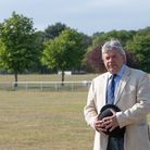 Suffolk Show Director Bruce Kerr at Trinity Park. Picture: SARAH LUCY BROWN